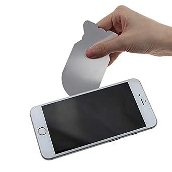 MASUNN 0.1 Mm Ultra Delgado Flexible Teléfono De Acero Inoxidable ...