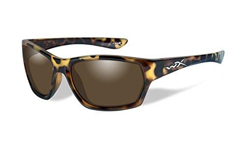 Wiley X WX Moxy Polarized Bronze Lens/Gloss Demi - Wiley X Sunglasses Fishing