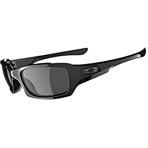 Oakley Men's OO9238 Fives Squared Rectangular Sunglasses