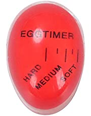 LEAQU Mini Egg Timer for Boiling Eggs,Non-Toxic Resin Egg Timer That Changes Color When Done for Boiling Soft, Medium or Hard Boiled Eggs