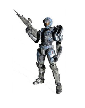 Action Arts 2 Play Figure (Halo Reach Square Enix Play Arts Kai Series 2 Action Figure Commander Carter)