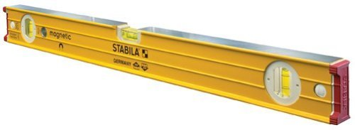 (Stabila 38624-24-Inch builders level, Magnetic, High Strength Frame, Accuracy Certified Professional Level)