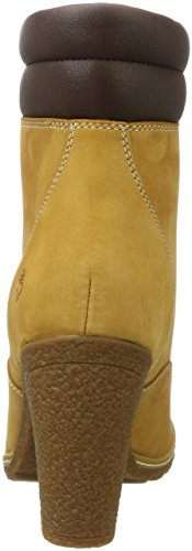 Timberland Inch Femme Double Bottes Tillston Fit wide 6 Collar Jaune wheat rEqrABH