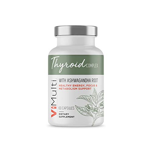 ViMulti #1 New Thyroid Supplement to Support Thyroid Health. Breakthrough Natural Herbal Formula Loaded with Natural Ingredients to Support Weight Loss, Boost Energy,