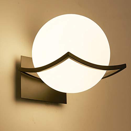 Lámpara de Pared LED Interior Iluminación – Creativo Luz de Noche Cabecera Pasillo Accesorio Montado(Bombilla no…