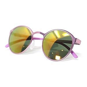 TIJN Designer Metal Frame Sunglasses for Men 53mm