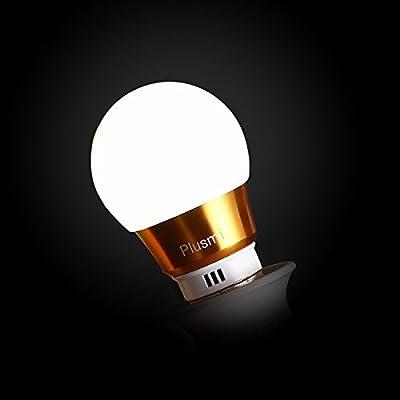 Plusmi E27 LED Bulbs Light Bulbs,5W Equivalent to 40W Incandescent Bulb , 6500k,COOL WHITE (Pack of 2)