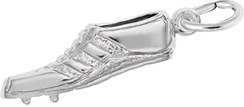 Rembrandt Charms Sterling Silver Track Shoe Charm