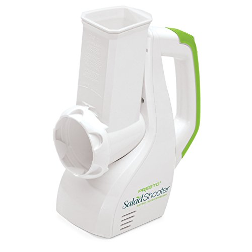 - Presto 02910 Salad Shooter Electric Slicer/Shredder