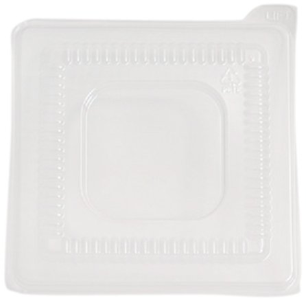 CaterLine Clear Lid for Square Pedestal/Dip Bowl (96-Count) - Pedestal Dip