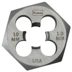 10Mm-1.25Mm Die 1 Hex-Cd-2 Pack