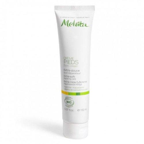 Melvita The Essentials - Extra-Soft Foot Cream, 5.2 Ounce Tube