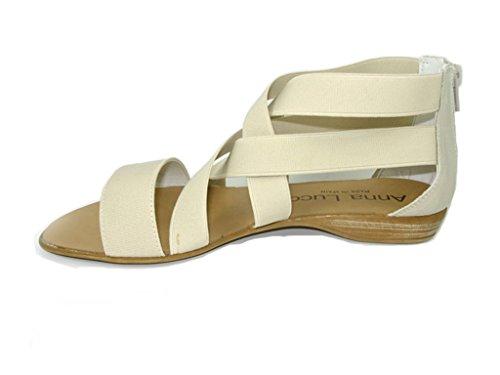 Lince Sandalia Strisce ELASTICAS Beige Shoes