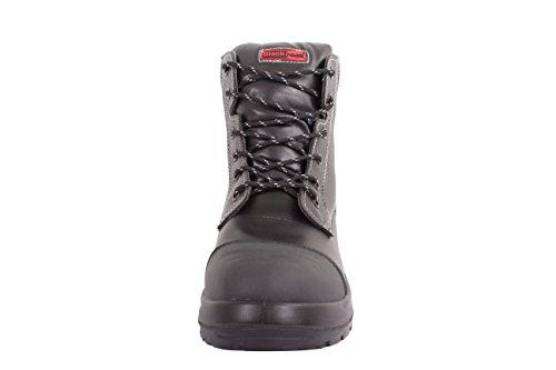 Blackrock Advance Industrie- Guardian Wasserfest Stiefel Mit Stahlkappen Sicherheit Arbeitskleidung schwarz