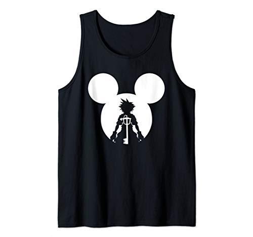 Disney Kingdom Hearts Sora Keyblade Logo Tank Top ()