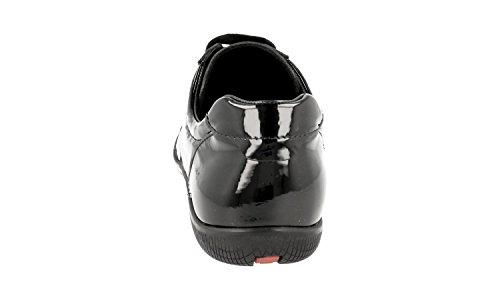 Prada Kvinners 3e5620 Skinn Sneaker