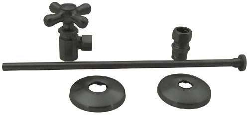 Elizabethan Classics ECTLTS1ORB Closet Angle Supply Kit, Oil Rubbed Bronze by Elizabethan Classics