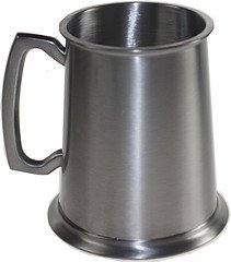 - Great Gifts UK Wentworth Pewter- Antique Finish Pewter Tankard
