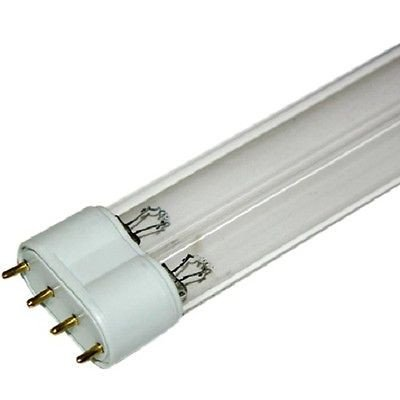36 Watt 2G11 UV-C Germicidal Replacement Lamp United Aquatics LLC Uvc136