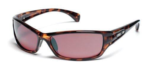 Suncloud Optics Hook Sunglasses (Tortoise with Rose Polarized Polycarbonate - Rose Lens Sunglasses
