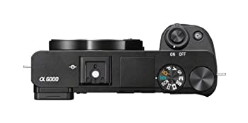 Sony Alpha A6000 Mirrorless Digital Camera 24.3 Mp Slr Camera With 3.0-inch Lcd - Body Only (Black) 5