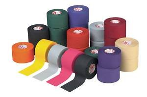 M-Tape Colored Athletic Tape - Gray, 6 Rolls (Tape Athletic Colored)
