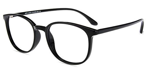 Firmoo Blue Light Blocking Computer Reading Glasses 2.50 Magnification Anti Eyestrain Glare Free Computer Readers for Reading/TV/Tablets/Phones Blocking UV400 Headache Blurry Vision Black Square -
