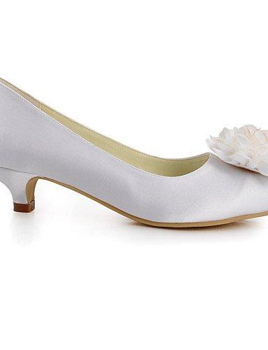 GGX  Damen-Hochzeitsschuhe-Absätze   Rundeschuh-High Rundeschuh-High Rundeschuh-High Heels-Hochzeit   Kleid   Party & Festivität-Blau   Rot   Weiß   Beige f4a798