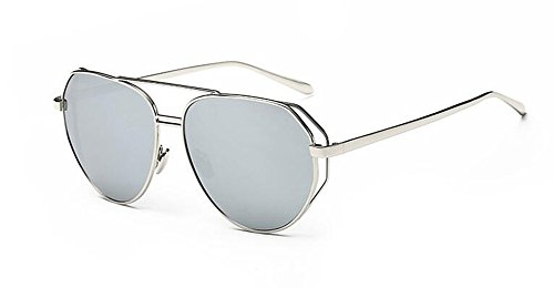 inspirées polarisées métallique du lunettes cercle rond en Comprimés vintage soleil retro Mercure de de Lennon style qA1agta