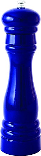 Fletchers' Mill Federal Pepper Mill, Cobalt - 8 Inch, Adjustable Coarseness Fine to Coarse, MADE IN -