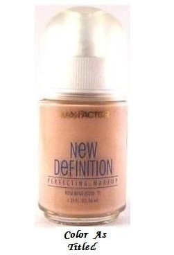Max Factor New Definition Makeup Foundation, Cool Bronze