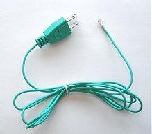 GROUNDING CORD | 6-foot long, 3-prong plug to ring terminal ()