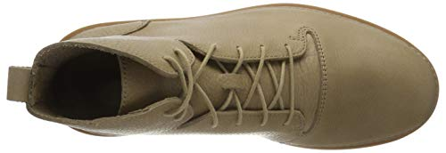 Uomo Beige Leather Hale sandstone Classici Clarks Stivali Rise gqI6PwwX
