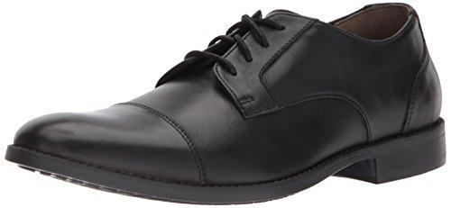 Bostonian Men's Garian Cap Oxford, Black Leather, 11 Medium US
