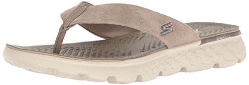 Parent Damen The 400 on Taupe Go Sandalen Skechers 48qYz8