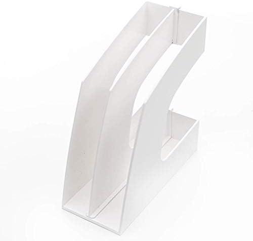 Akten-Halter Informationen Bürobedarf Briefpapier Desktop-File Storage (Farbe: Pink) Xping (Color : White)