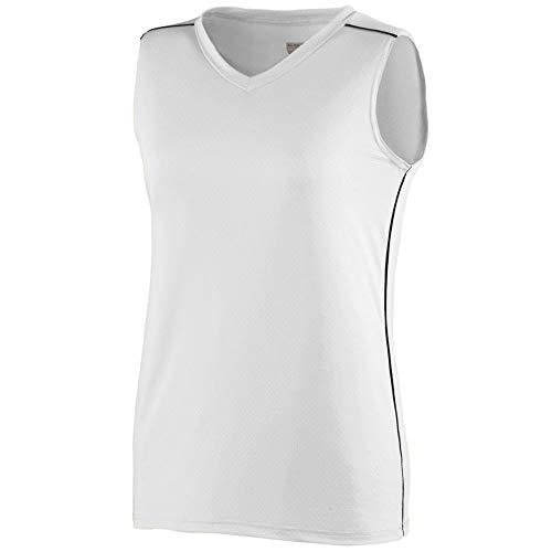 - Augusta Sportswear Girls' Storm Jersey S White/Black