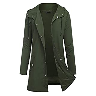 Men's Army Green Coat