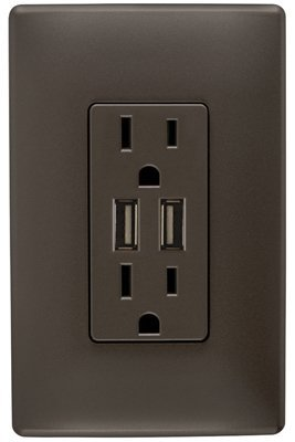 BRZ Combo USB Charger Wholesale Wall Plates