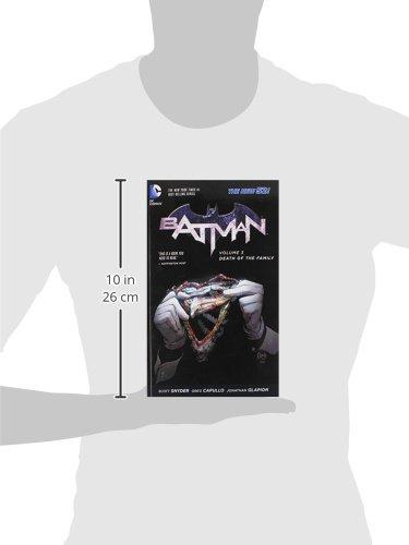Amazon com: Batman Vol  3: Death of the Family (The New 52) (Batman