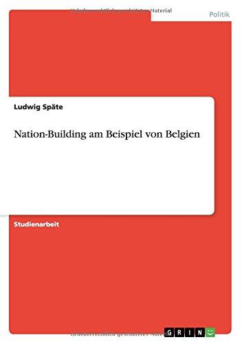 Nation-Building am Beispiel von Belgien (German Edition) ebook