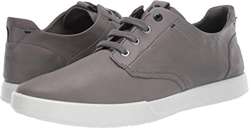 ECCO Men's Collin 2.0 Soft Tie Sneaker Titanium, 45 M EU (11-11.5 US) ()