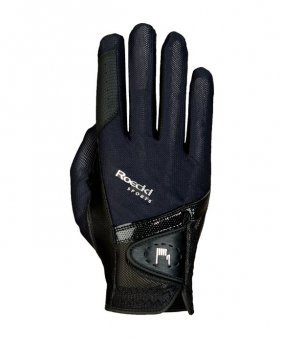 Roeckl Madrid Unisex Gloves 8 Black by Roeckl