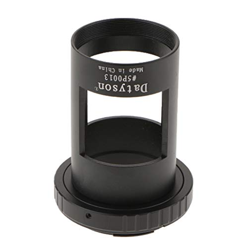 Homyl T-ring Camera Adapter Aluminum for Sony Alpha SLR Cameras + 42mm Spotting Scope Mount Photography Sleeve M42 Thread by Homyl