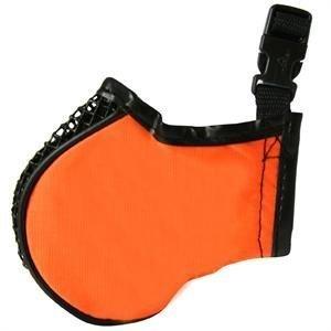 Jack Rock Russel Terriers - Pro Guard Pets Softie Muzzle for Dogs, Medium Orange