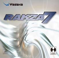 Yasaka Rakza 7 ,Red,Max Table Tennis (Yasaka Table Tennis Rubber)