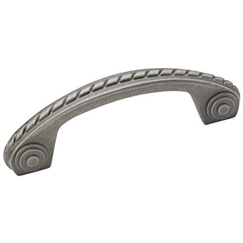 (Amerock BP53470-WN Allison Scroll Weathered Nickel Cabinet Hardware Handle Pull - 3