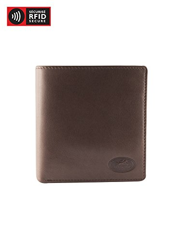 Mancini Leather Goods Manchester Collection: Men's RFID Hipster Wallet -