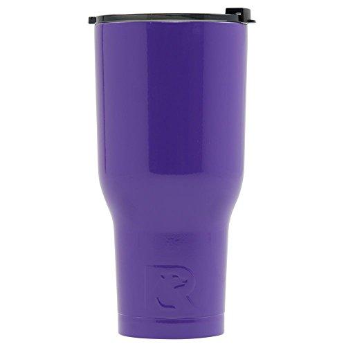 RTIC Tumbler, 40 oz, Purple, Insulated Travel