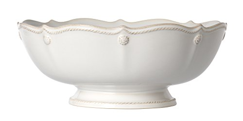 - Juliska Berry And Thread Footed Fruit Bowl Whitewash
